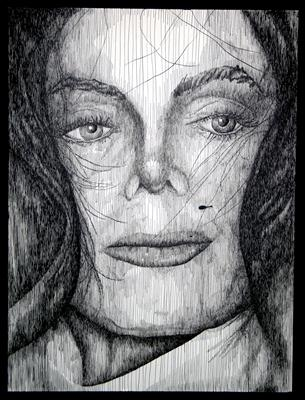 Michael by Frank Papandrea, Drawing, Pen on Paper